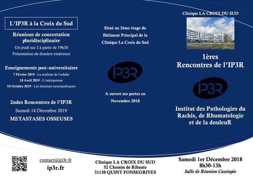 ouverture du centre Ouverture du centre IP3R FLYER 001